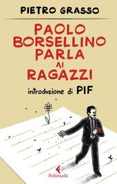 Copertina  Paolo Borsellino parla ai ragazzi