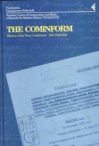Libro Annali della Fondazione Giangiacomo Feltrinelli (1994). The Cominform. Minutes of the three Conferences (1947-1949)