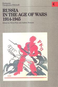 Lascalashepard.it Annali della Fondazione Giangiacomo Feltrinelli (1998). Russia in the age of wars 1914-1945 Image