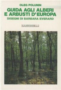 Libro Guida agli alberi e arbusti d'Europa Oleg Polunin
