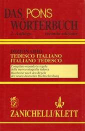 Pons Wörterbuch. Dizionario tedesco-italiano, italiano-tedesco (Das)