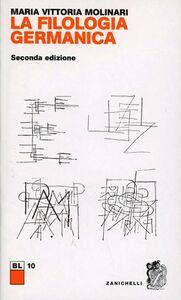Libro Filologia germanica M. Vittoria Molinari