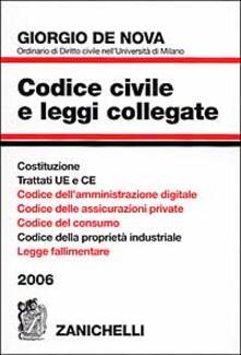 Criticalwinenotav.it Codice civile e leggi collegate 2006 Image