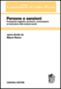 Commentario sistematico al codice penale. Vol. 3: Persone e sanzioni. - Mauro Ronco - copertina