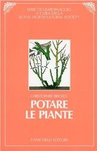 Libro Potare le piante Christopher Brickell