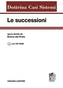 Le successioni. Con CD-ROM.pdf