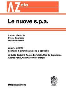 Foto Cover di Le nuove s.p.a.. Vol. 4: I sistemi di amministrazione e controllo., Libro di  edito da Zanichelli
