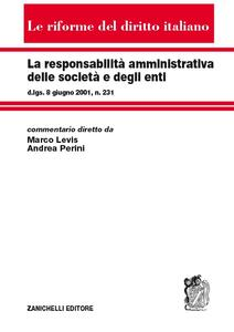 La responsabilità amministrativa delle società e degli enti - copertina