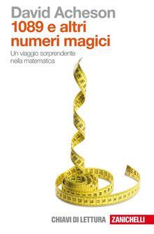 Osteriacasadimare.it Milleottantanove e altri numeri magici. Un viaggio sorprendente nella matematica Image