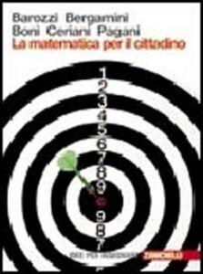 Libro La matematica per il cittadino