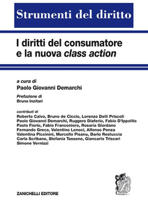 Libro I diritti del consumatore e la nuova class action