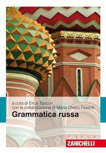 Grammatica russa - copertina
