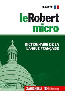 Camfeed.it LeRobert micro. Dictionnaire de la langue française Image