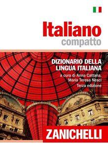 Libro Italiano compatto. Dizionario della lingua italiana