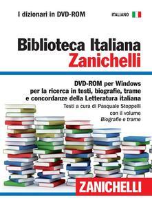 Antondemarirreguera.es Biblioteca italiana. Con DVD-ROM Image