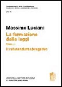 Commentario della Costituzione. Art. 75 Referendum - Massimo Luciani - copertina