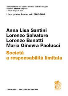Mercatinidinataletorino.it Libro quinto: Art. 2462-2483. Società a responsabilità limitata Image