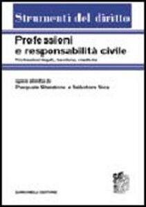 Libro Professioni e responsabilità civile