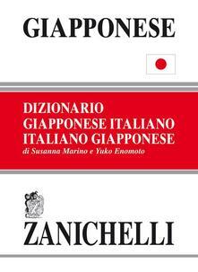 Giapponese. Dizionario giapponese-italiano, italiano-giapponese - Susanna Marino,Yuko Enomoto - copertina