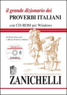 Vastese1902.it Il grande dizionario dei proverbi italiani. Con CD-ROM Image