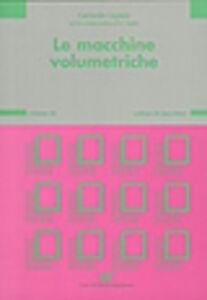 Libro Le macchine volumetriche. Vol. 3\1 Carmelo Caputo
