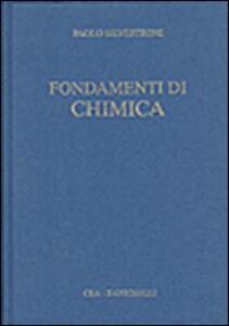 Fondamenti di chimica - Paolo Silvestroni - copertina