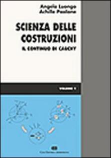 Libro Scienza Delle Costruzioni Vol 1 Il Continuo Di Cauchy Pdf Pdf Bro
