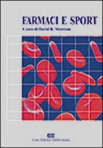 Farmaci e sport - David R. Mottram - copertina