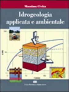 Idrogeologia applicata e ambientale - Massimo Civita - copertina