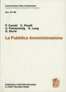 Squillogame.it Commentario della Costituzione. Pubblica amministrazione. Artt. 97-98 Image