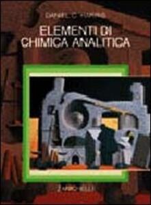 Elementi di chimica analitica - Daniel C. Harris - copertina