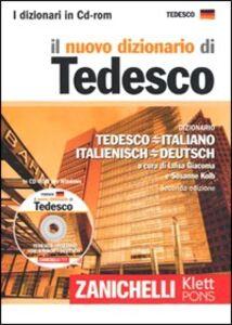 Libro Il nuovo dizionario di tedesco. Dizionario tedesco-italiano, italiano-tedesco. CD-ROM