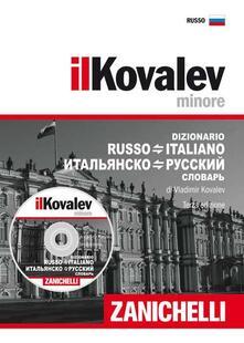 Ristorantezintonio.it Il Kovalev minore. Dizionario russo-italiano, italiano-russo. Con CD-ROM Image