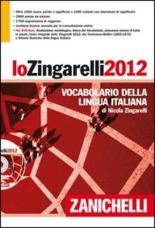 Associazionelabirinto.it Lo Zingarelli 2012. Vocabolario della lingua italiana. DVD-ROM Image