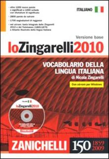 Fondazionesergioperlamusica.it Lo Zingarelli 2010. Vocabolario della lingua italiana. Con CD-ROM. Versione base Image