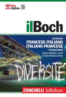 Festivalshakespeare.it Il Boch. Dizionario francese-italiano, italiano-francese. Plus digitale. Con DVD-ROM. Con aggiornamento online Image