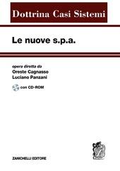 Le nuove s.p.a. Con CD-ROM. Vol. 2: Modificazioni dello staturo e operazioni di capitale.