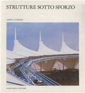 Foto Cover di Strutture sotto sforzo, Libro di James E. Gordon, edito da Zanichelli