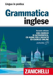 3tsportingclub.it Grammatica inglese. Con esercizi di autoverifica. Con CD Audio formato MP3 Image