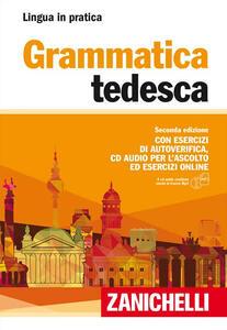 Grammatica tedesca. Con esercizi di autoverifica. Con CD Audio formato MP3 - copertina