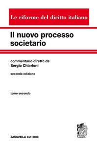 Libro Nuovo processo societario. Vol. 2 Sergio Chiarloni