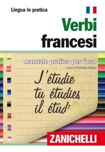 Verbi francesi. Manuale pratico per l'uso - copertina
