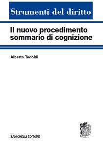 Libro Il nuovo procedimento sommario di cognizione Alberto Tedoldi
