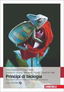Principi di biologia. Con CD-ROM - copertina