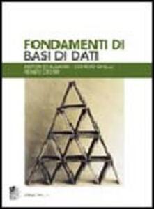 Fondamenti di basi di dati - Antonio Albano,Giorgio Ghelli,Renzo Orsini - copertina
