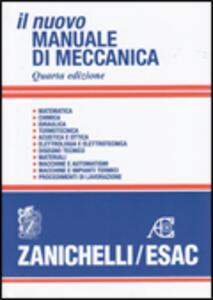 Il nuovo manuale di meccanica - copertina