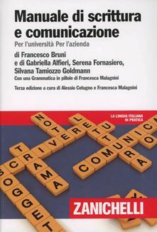 Mercatinidinataletorino.it Manuale di scrittura e comunicazione. Per l'Università per l'azienda. Con Contenuto digitale (fornito elettronicamente) Image