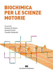 Biochimica per le scienze motorie - copertina