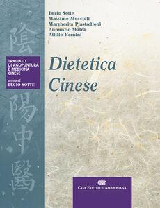Libro Dietetica cinese Lucio Sotte