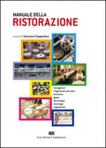 Manuale della ristorazione - Salvatore Ciappellano - copertina